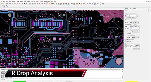 Allegro - IR Drop Vision and Analysis