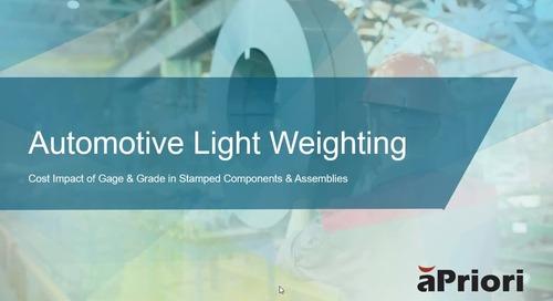 Automotive Light Weighting Demo