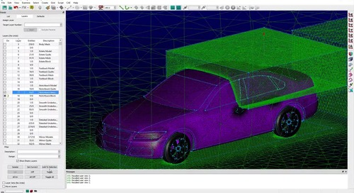 Localized Remeshing Strategies for Parametric Models in Pointwise