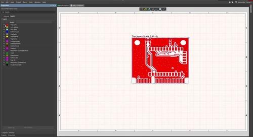 Как отобразить дополнительные механические слои на виде платы для изготовления в Draftsman