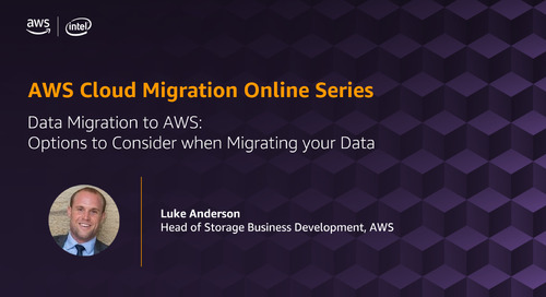 Migration Online Series: Data Migration to AWS