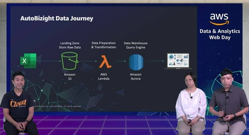 Leveraging AWS platform to Build a Data Related Digital Transformation Service (Cantonese)