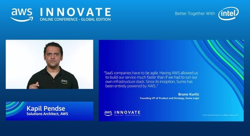 Maximize innovation and agility by building your SaaS Solution on AWS - AWS Innovate