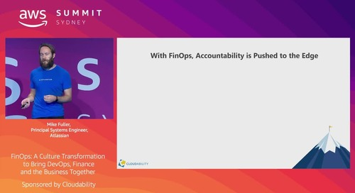 FinOps: A Culture Transformation to Bring DevOps, Finance and the Business Together (Cloudability)