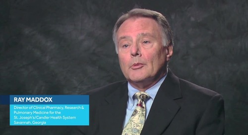 Dr. Ray Maddox Discusses Using Capnography with Patients on PCA Pumps