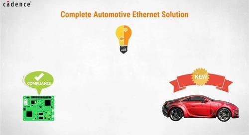 Sigrity Tech Tip - Automotive Ethernet Compliance