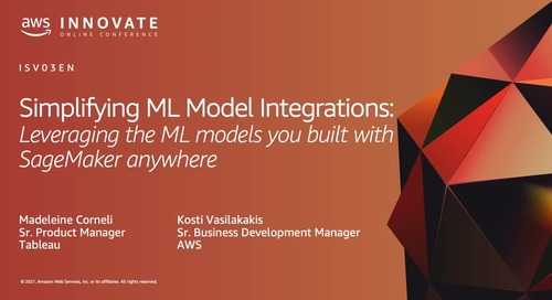 Simplifying ML Model Integrations: Leveraging the ML models you built with SageMaker anywhere