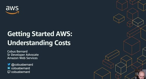 2020-07-13 AWS Webinar 22 - Getting Started with AWS - Understanding Costs