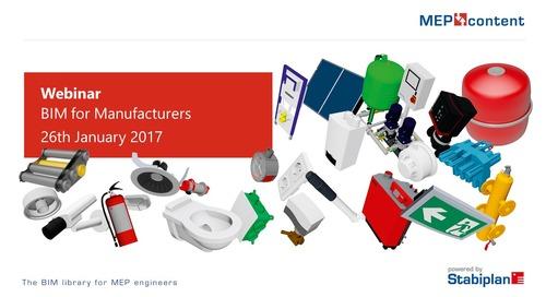 Webinar MEPcontent for Manufacturers