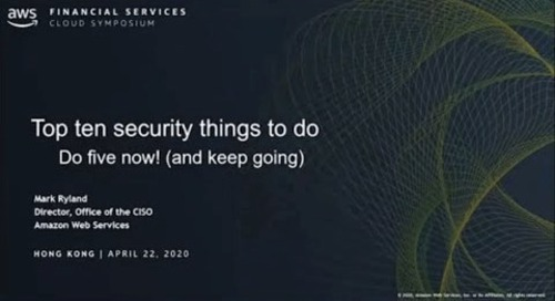 Security Fundamentals 10 Ways to Strengthen your Foundation