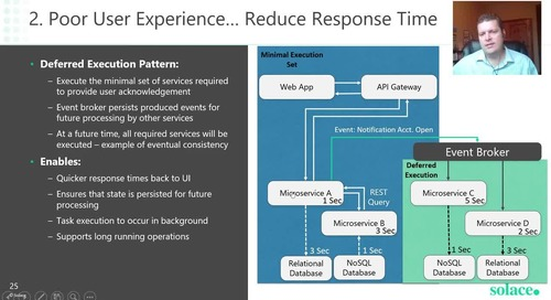 Enhancing Microservices with Events