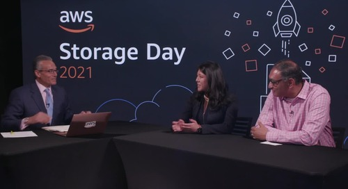 theCUBE Interview with Satish Lakshmanan, Director of Storage Business Development, and Nancy Wang, General Manager of AWS Backup