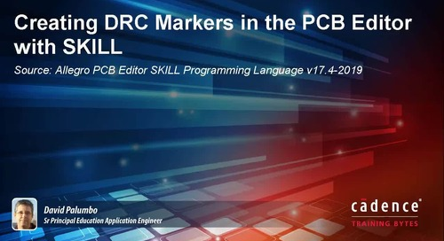 Creating DRC Markers in the PCB Editor with SKILL