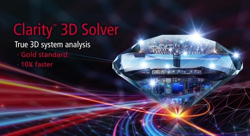 True 3D System Analysis with Faster Speeds, More Capacity, and Integration