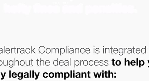 Dealertrack F&I Compliance