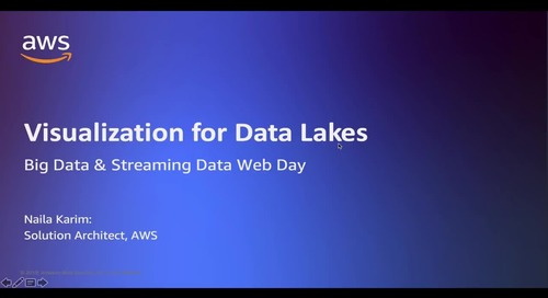 Visualize Data Stored in Data Lakes