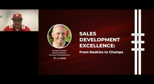 Sales Development Excellence: From Rookies to Champs