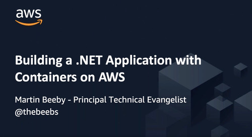 Building a .NET Application with Containers on AWS