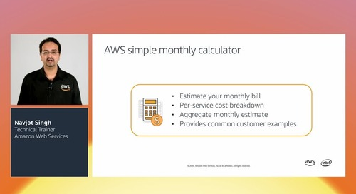 AWSome Day Module 5: AWS Pricing, Support and Architecting