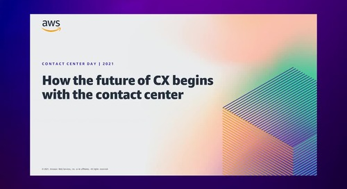 How the Future of CX Begins with the Contact Center
