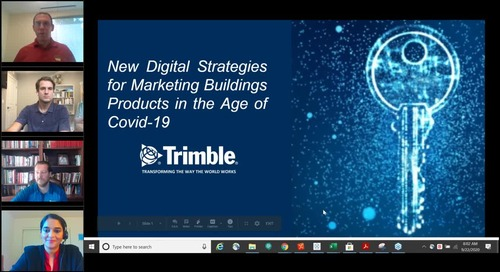[On-Demand Webinar] New Digital Strategies for Marketing Building Products in the Age of COVID-19