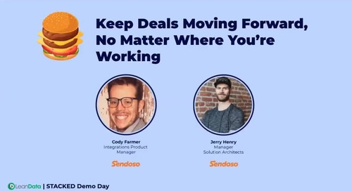 Keep Deals Moving Forward, No Matter Where You're Working