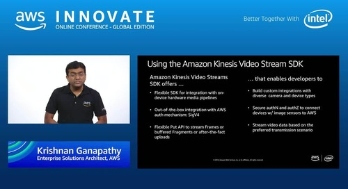 Video Analytics At The Edge - AWS Innovate