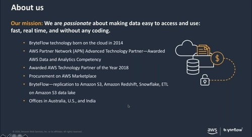 How BryteFlow on AWS Is Helping Horizon Power Accelerate Data-Driven Outcomes