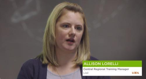 Allison Lorelli from Lixil
