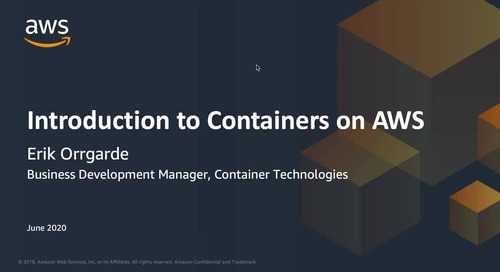 Introduction to Containers on AWS