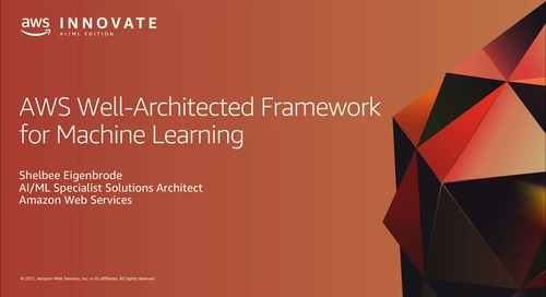 Well-Architectured Framework for Machine Learning