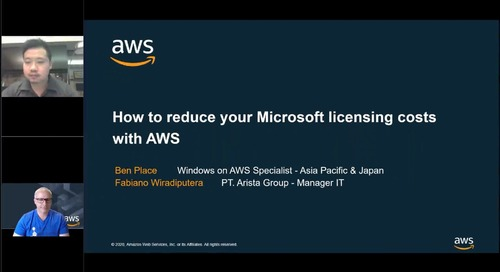How to reduce your Microsoft licensing costs with AWS