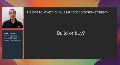 Building an ML organisation