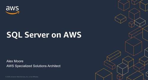 SQL Server on AWS