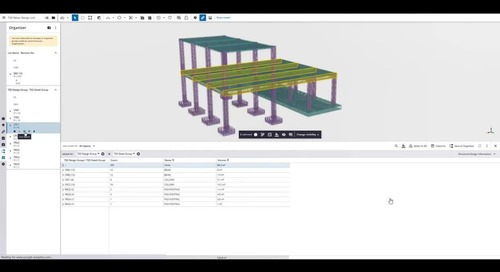 Tekla 2021 - What's New for Cast-in-Place