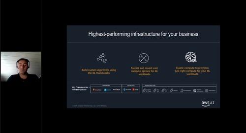 Get started. Artificial Intelligence@Amazon e casi d'uso di aziende di successo.