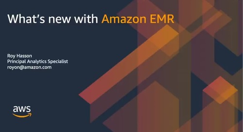 Amazon EMR Recent Launches