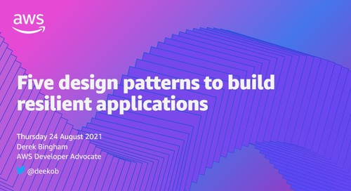 Five design patterns to build resilient applications