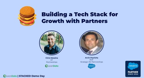 Building a Tech Stack for Growth with Partners