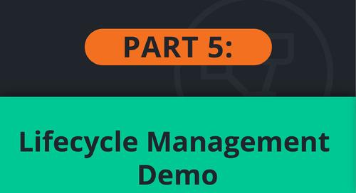 PubSub+ Event Portal Demo Part 5: Lifecycle Management