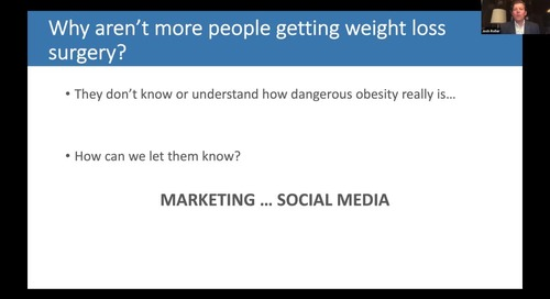 Webinar: Bariatric Practice Digital Presence & Digital Marketing