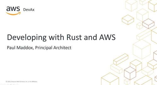 Developing with Rust on AWS