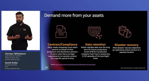 Reinventing data and analytics strategy for media and entertainment with AWS