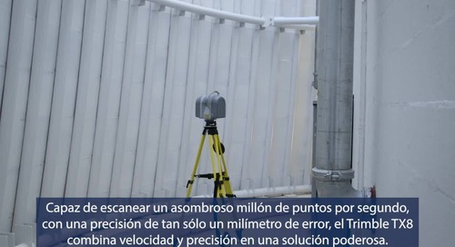 First Look Trimble TX8 Laser Scanner - Spanish Subtitles