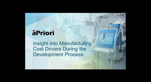 aPriori Design to Cost 2 min demo