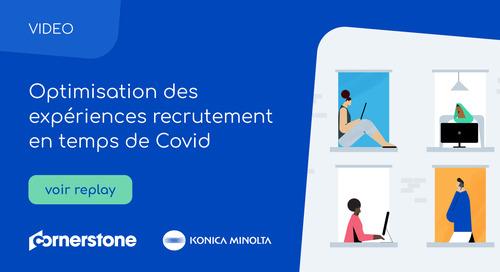 Konica Minolta : Optimisation des expériences recrutement en temps de Covid