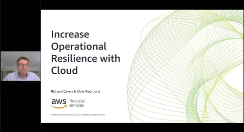 Increase Operational Resilience with Cloud