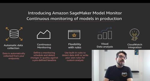 Últimas novedades y lanzamientos AWS - re:Invent (part 2): AI/ML, bases de datos y analítica