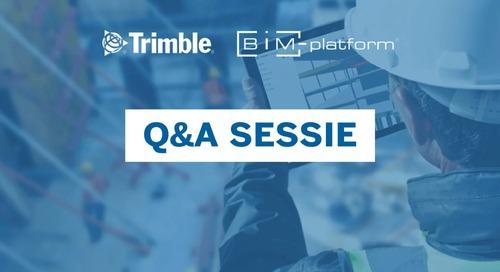[BIM-Platform & Trimble] QA Sessie