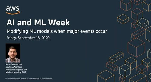 AIML Week: Modifying ML models when major events occur